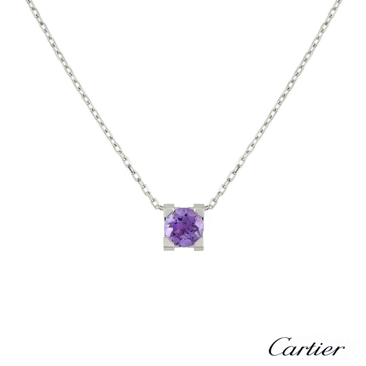 C de Cartier Amethyst Pendant
